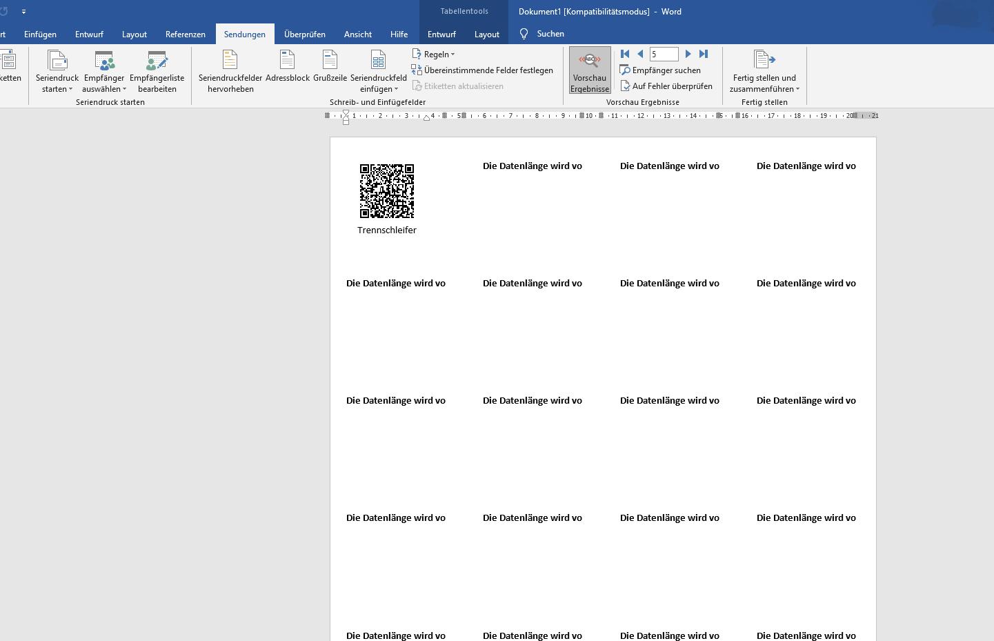 qmBase QR-Code erstellen mit Excel und Word Serienbrief, Instandhaltung, Digitalisierung, Smart Maintenance, Maintenance Management