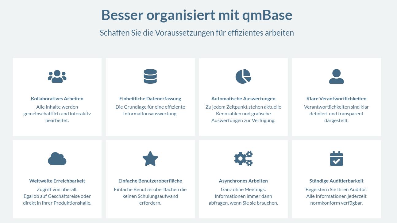 qmBase Software Benefits und Vorteile, Kollaborativ, Kollaboratives Arbeiten